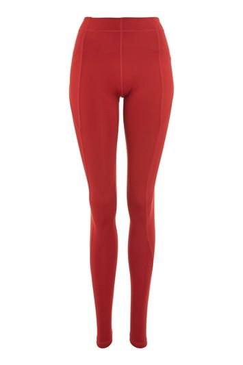 Topshop Mid Rise Ankle Leggings By Ivy Park