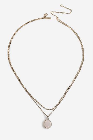 Topshop *semi Precious Multi Necklace