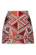 Topshop Petite Desert Traveller Skirt