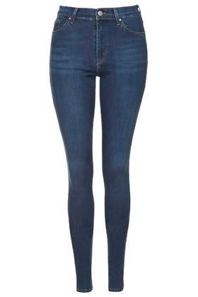 Topshop Tall Moto Indigo Leigh Jeans