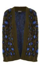 Topshop Tall Leopard Print Cardigan