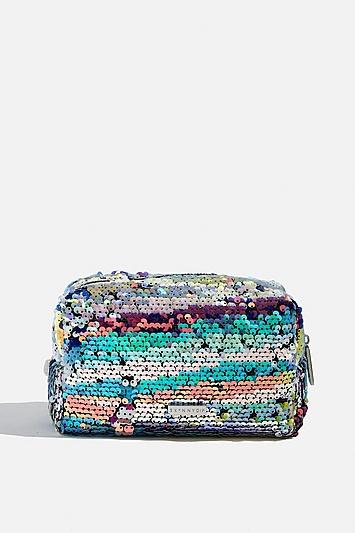 Skinny Dip *carnival Sequin Makeup Bag By Skinnydip