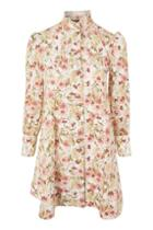 Topshop Printed Shirt Dress