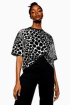 Topshop Giraffe Boxy T-shirt