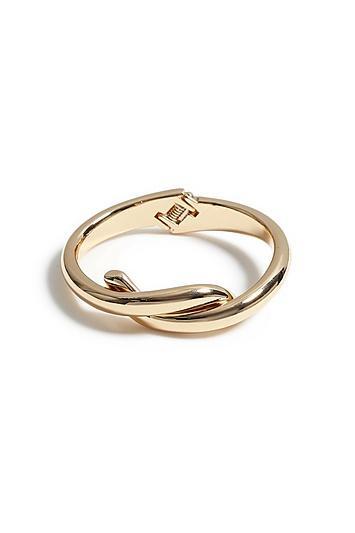Topshop *twist Knot Hinge Bracelet