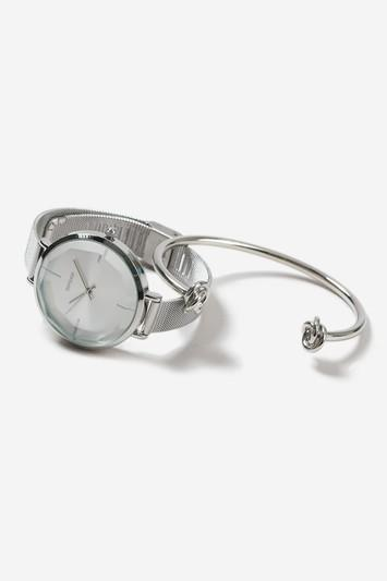 Topshop Watch And Bangle Pack