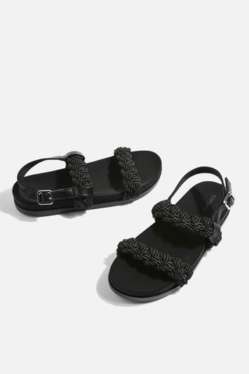 Topshop Rope Footbed Shoes
