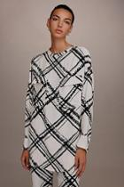 Topshop *tab Neck Shirt By Boutique
