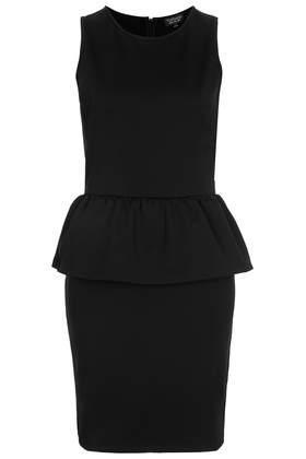 Topshop Peplum Bodycon Dress