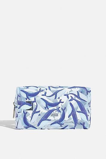 Skinny Dip *blue Whale Makeup Bag By Skinnydip