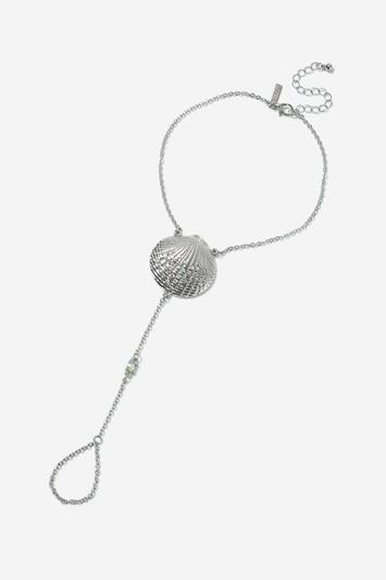 Topshop Shell Charm Anklet
