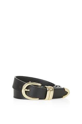 Topshop Mid-western Leather Belt
