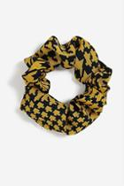 Topshop *dogtooth Hair Scrunchie