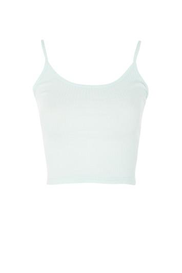 Topshop Tall Bella Crop Camisole Top