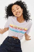 Topshop Petite Knot Front Austin T-shirt