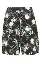 Topshop Mix Blossom Shorts