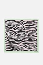 Skinny Dip *sherbet Zebra Scarf By Skinnydip