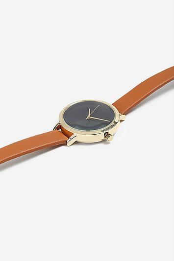 Topshop *tan Strap Watch