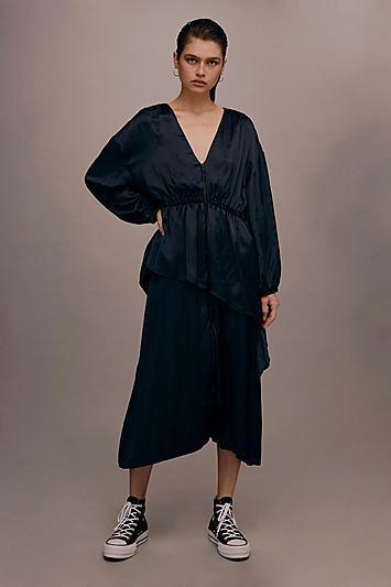Topshop *zip Front Dress By Boutique