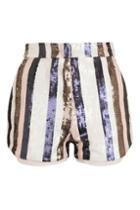 Topshop Premium Sequin Shorts