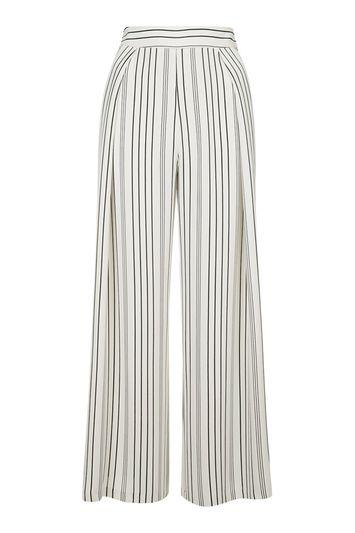 Topshop Petite Cropped Wide Leg Trousers