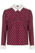 Topshop Arrow Print Shirt