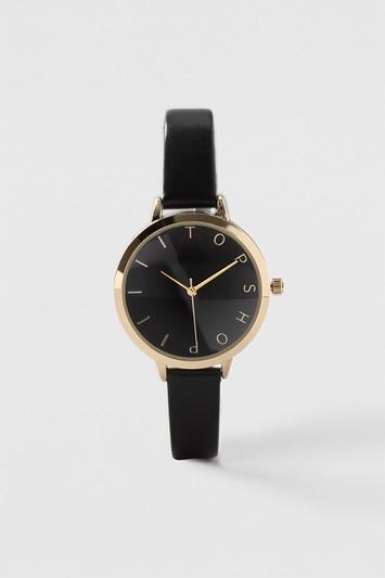 Topshop Topshop Moon Face Watch