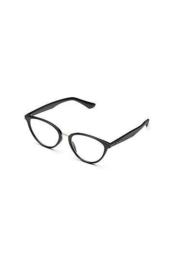 Quay Sunglasses *clear Lens 'rumours' Frames By Quay Australia