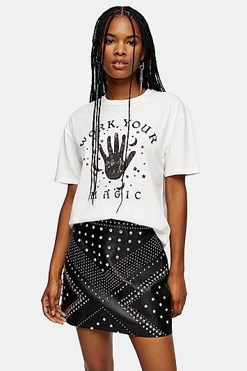 Topshop Work Your Magic T-shirt