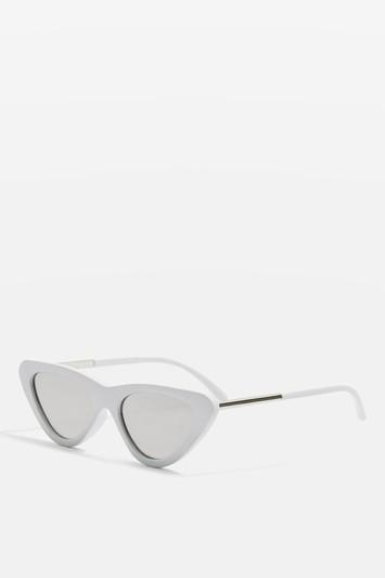 Topshop Pointy Polly Cat Eye Sunglasses