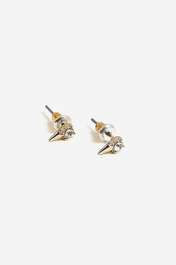 Topshop Freedom Finer Stone Spike Earrings