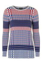 Topshop Brick Patterned Tunic Top