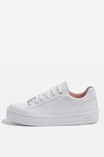 Topshop Commander Snake Back Trainers