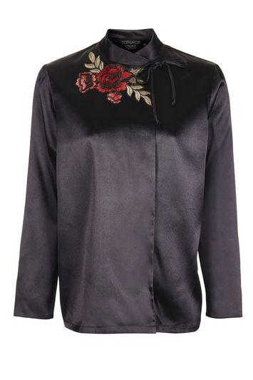 Topshop Rose Satin Blouse By Topshop Finds