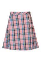 Topshop Plaid Tennis Skirt By Unif