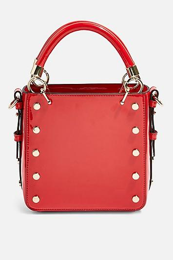 Topshop Courtney Stud Cross Body Bag