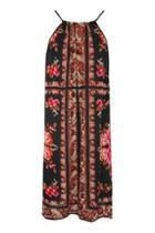 Topshop Rose Mix Print Dress