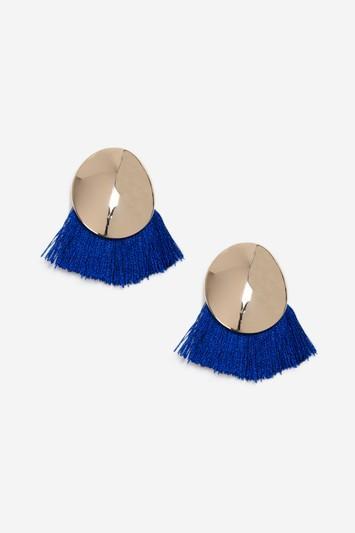 Topshop Fan Stud Earrings