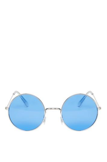 Topshop Lennon Round Sunglasses
