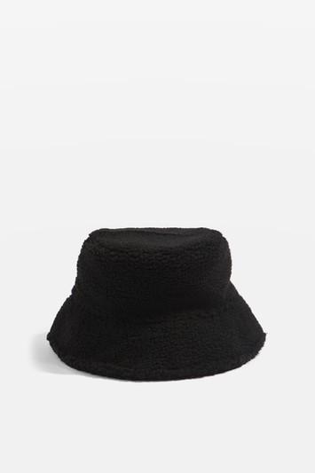 Topshop Borg Bucket Hat