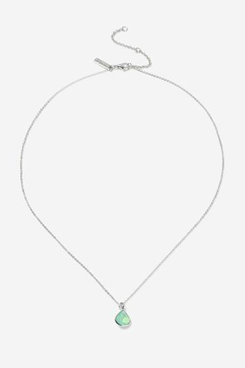 Topshop Turquoise Stone Ditsy Necklace
