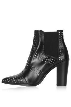Topshop Monostuds Pinstud Boots