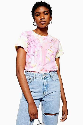 Topshop Tie Dye T-shirt