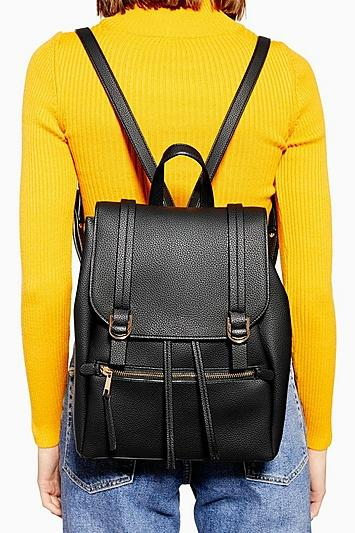 Topshop Jen Buckle Backpack