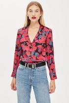 Topshop Floral Pyjama Shirt