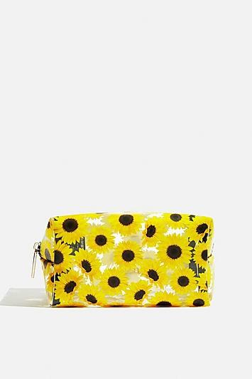 Skinny Dip *sunflower Makeup Bag By Skinnydip