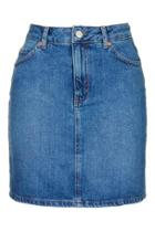 Topshop Moto High-waisted Mini Skirt