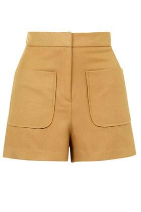Topshop Patch Pocket Shorts