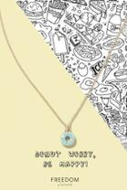 Topshop Donut Ditsy Necklace