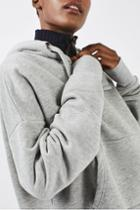 Topshop Cropped Hoody By Boutique